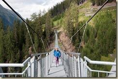 Hängebrücke bei Ischgl