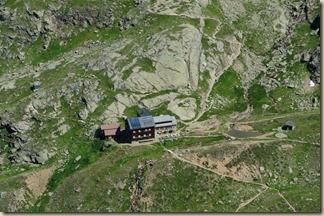 Blick auf die Edmund Graf Hütte