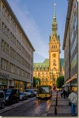 Hamburger Rathaus als HDR