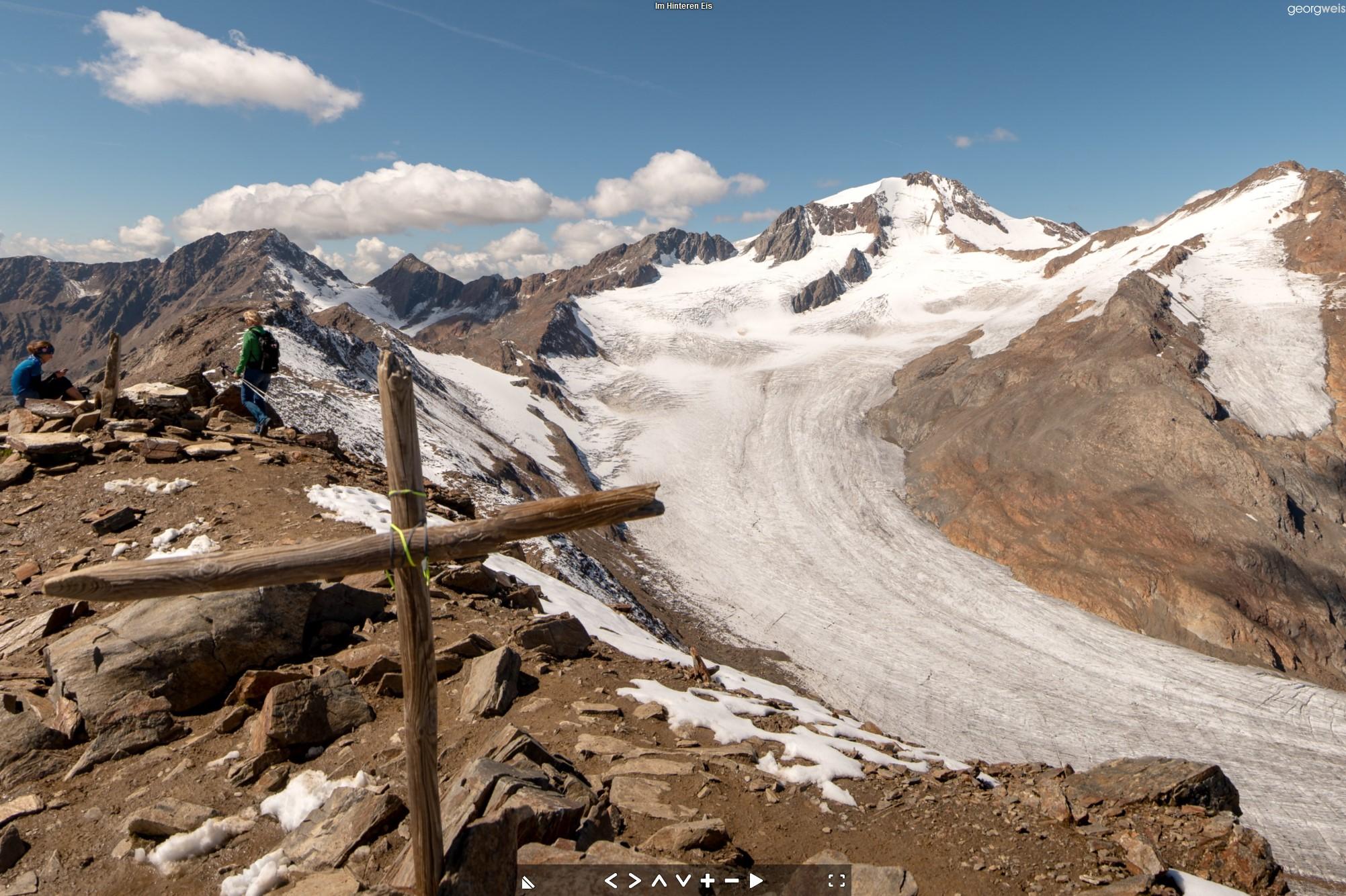 Im Hinteren Eis (3269m), Schnals