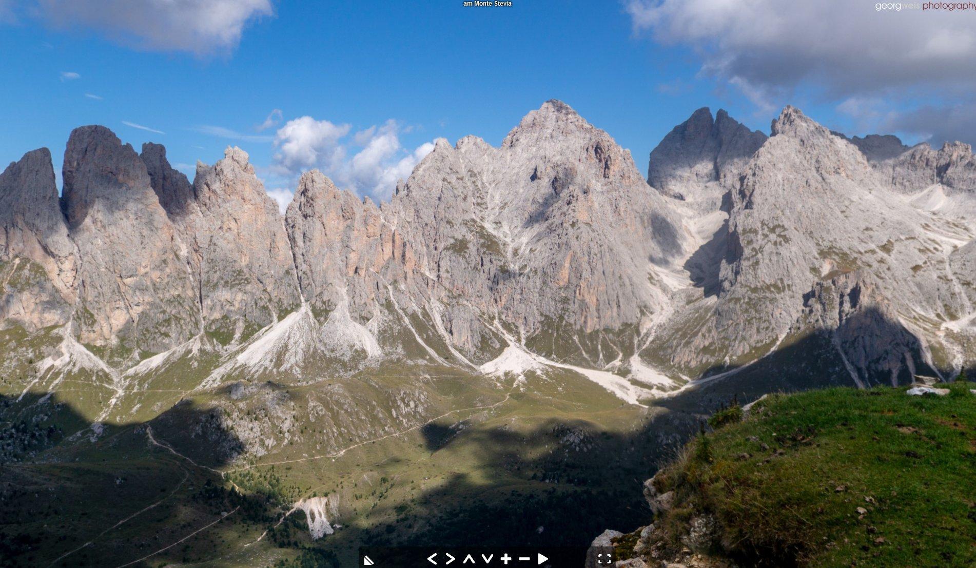 Monte Stevia (2280m), Gröden