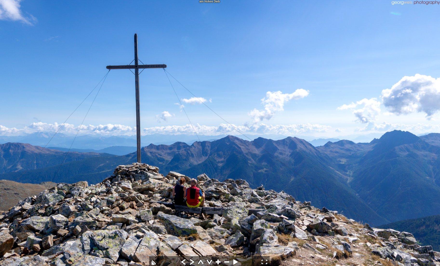 Hoher Dieb (2730m), Ulten