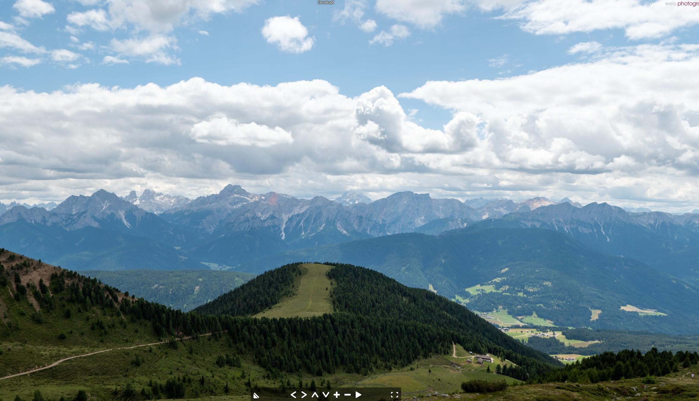 Durakopf (2275m), Taisten / Welsberg