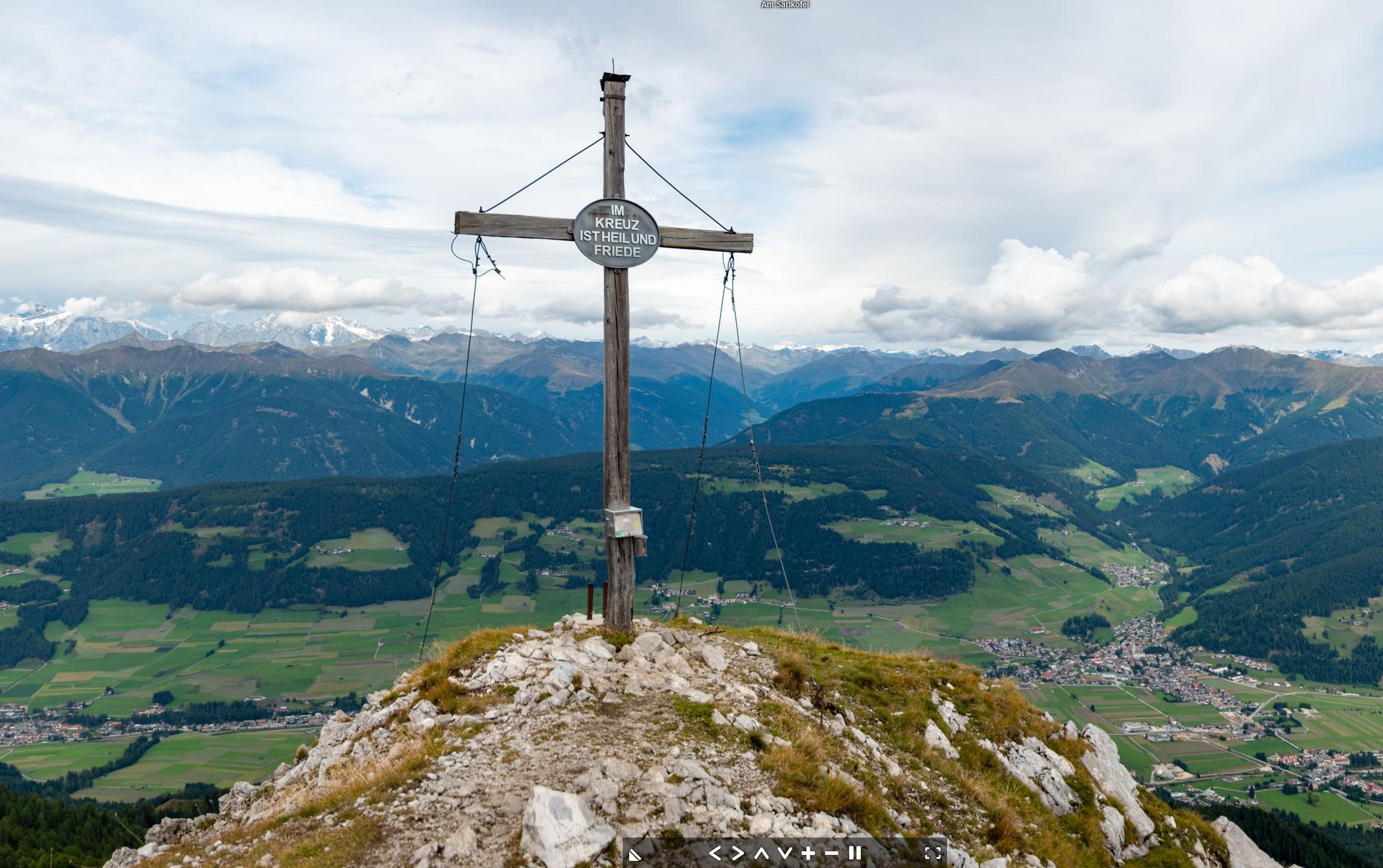 Am Sarlkofel (2378 m), Toblach