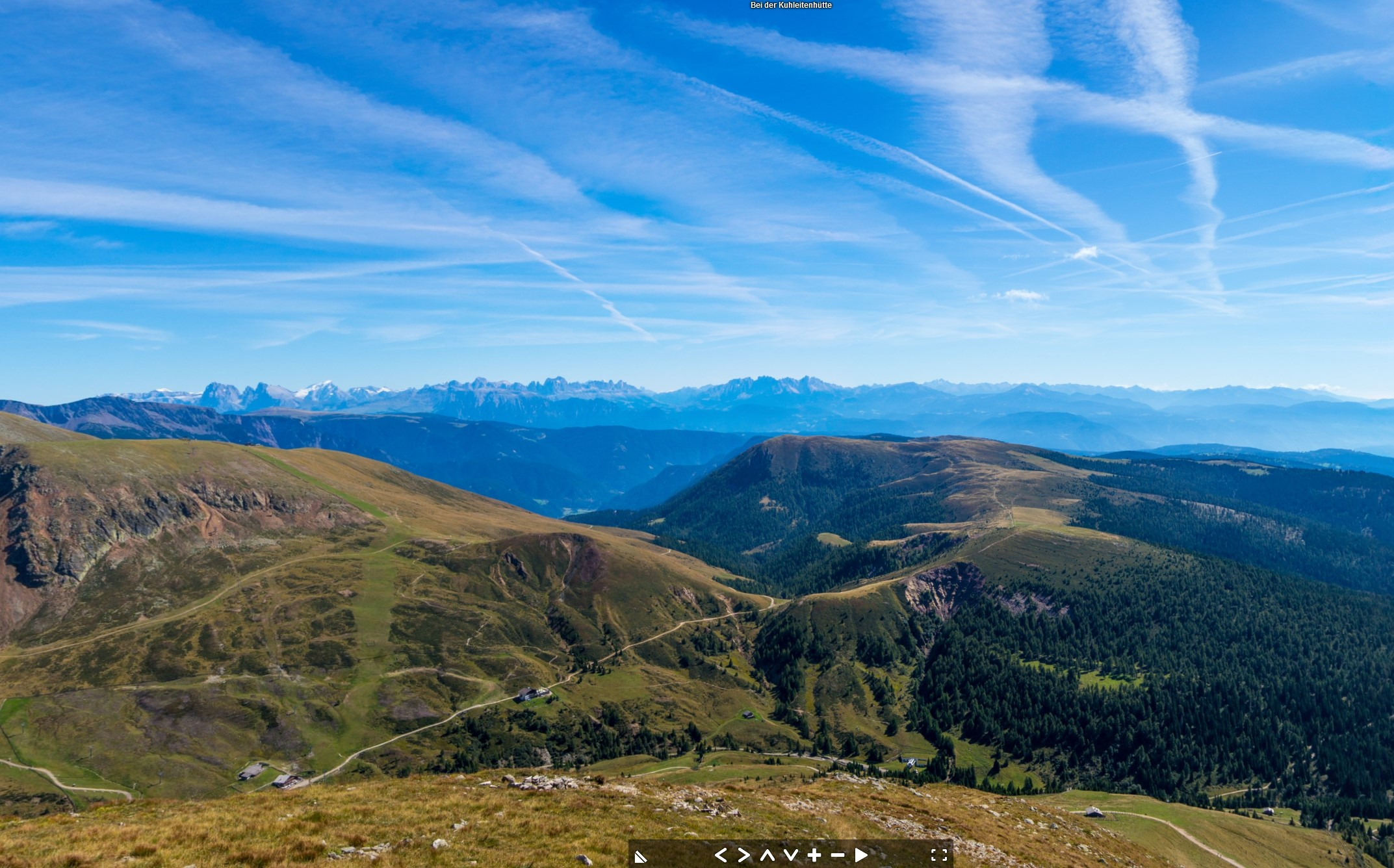 Die Kuhleitenhütte im Sommer (2361 m), Hafling