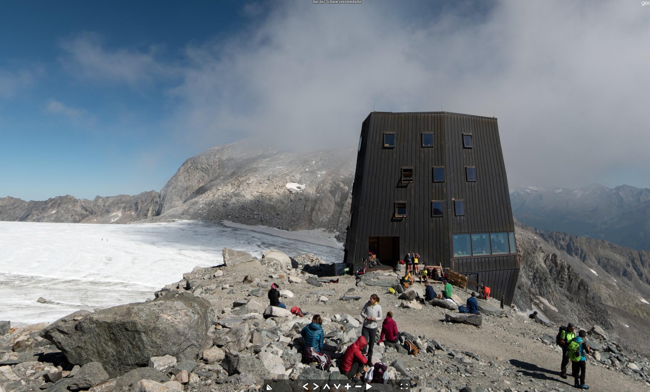 Schwarzensteinhütte (3026 m), Ahrntal