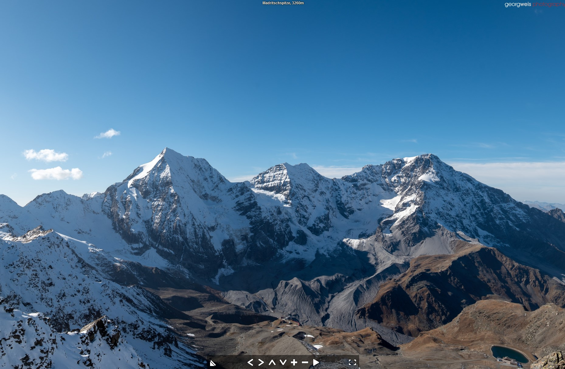 Madritschspitze (2365 m), Martell