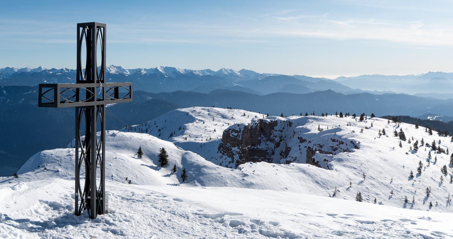 Roen im Winter (2112 m), Tramin