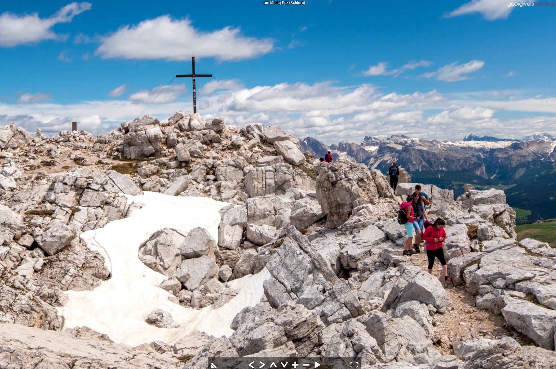 Monte Pez / Schlern (2563m), Völs