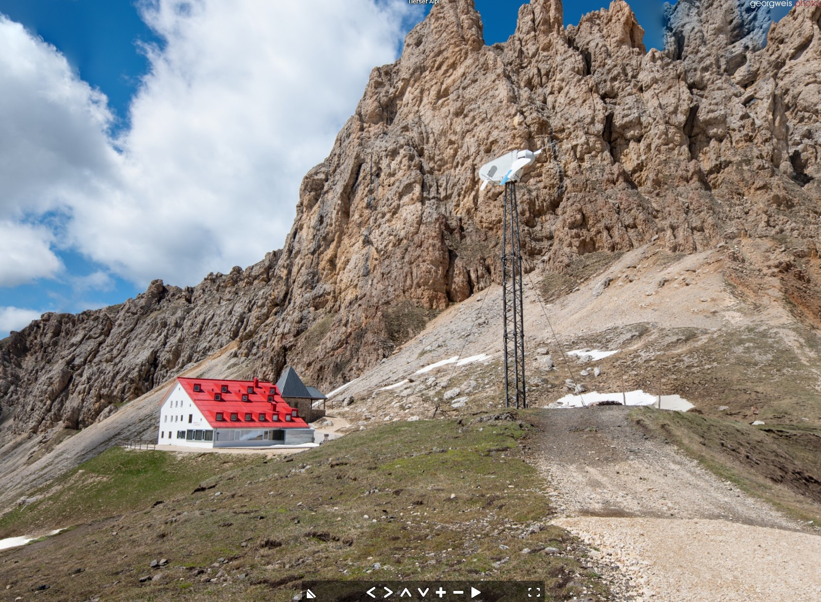 Tierser Alpl (2440 m), Tiers