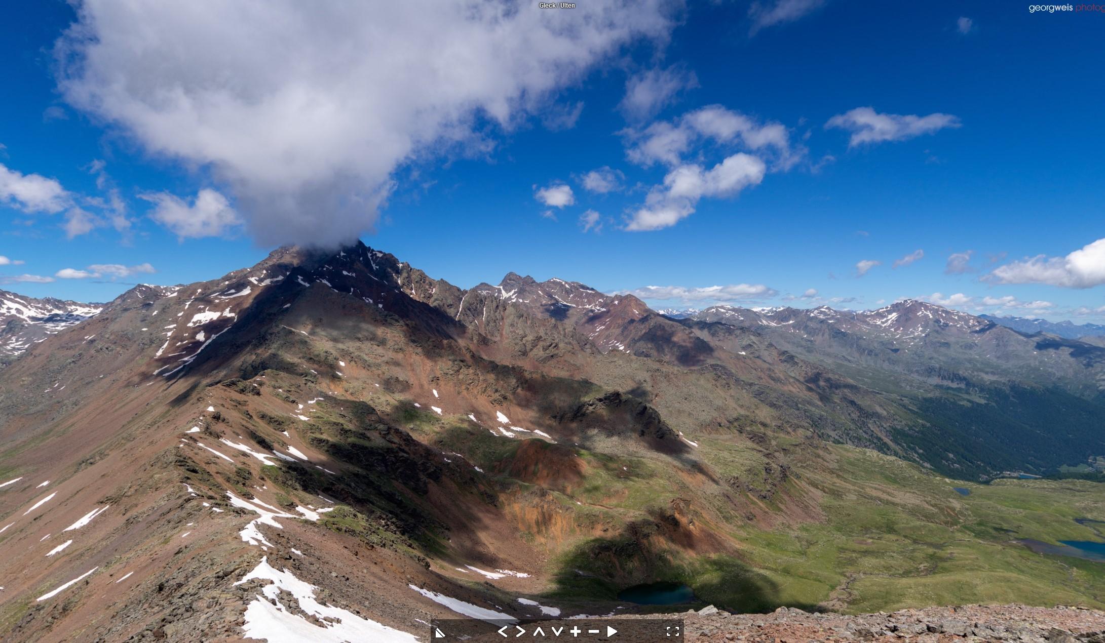Gleck (2957 m), Ulten