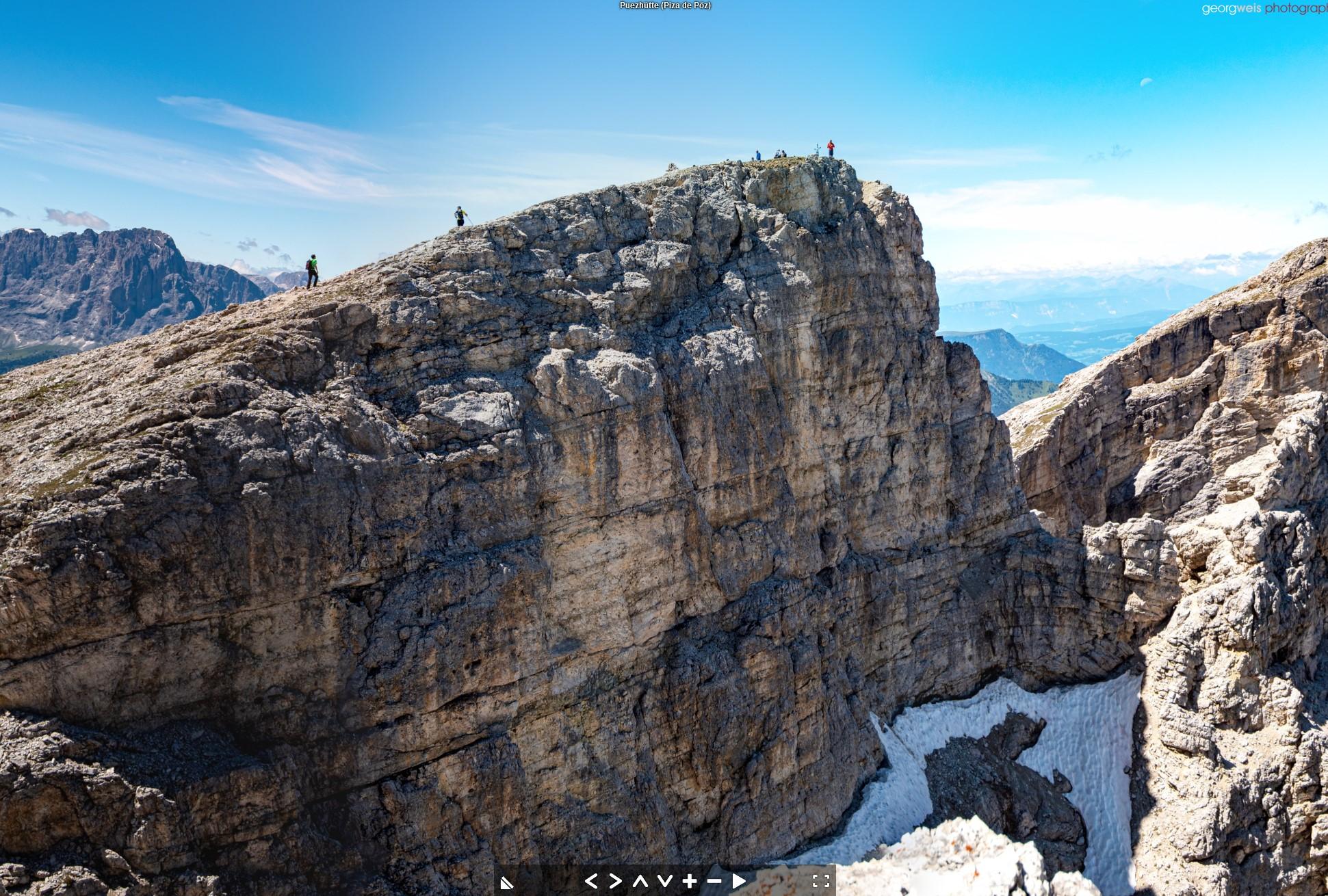 Puezspitze (2913 m), Gröden