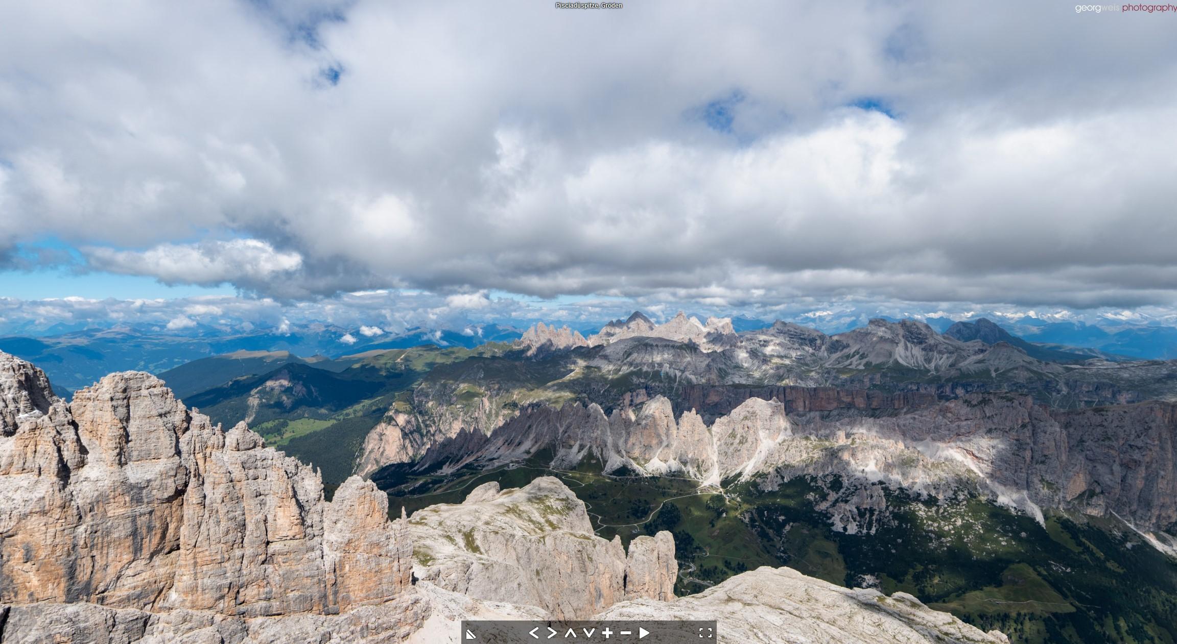 Pisciadu Spitze (2985 m), Gröden