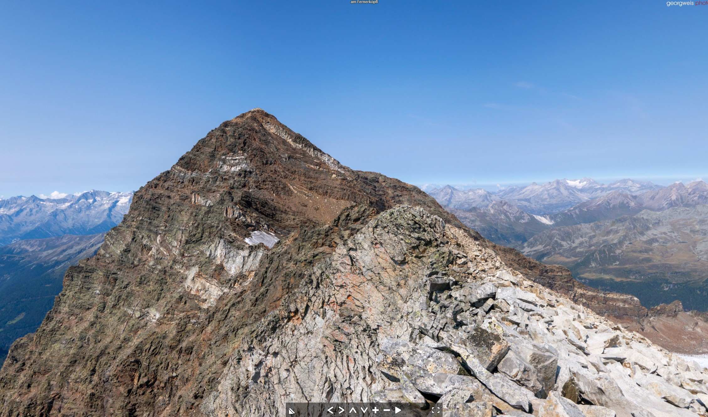 Fernerköpfl (3249m), Antholz