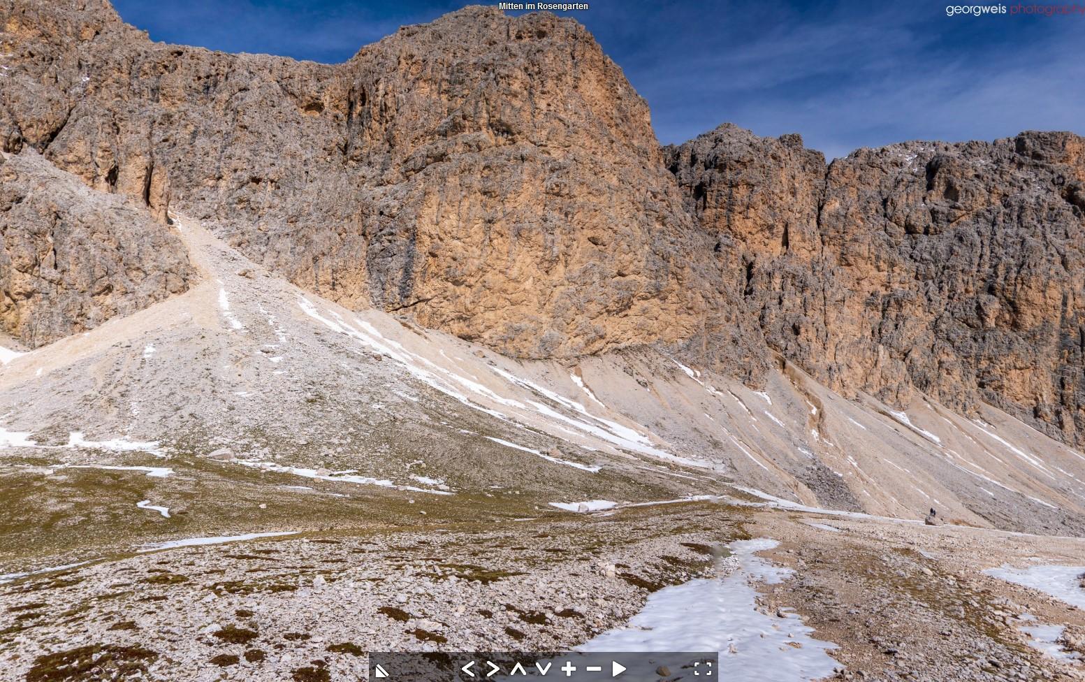 Antermoia (2500m), Mazzin di Fassa