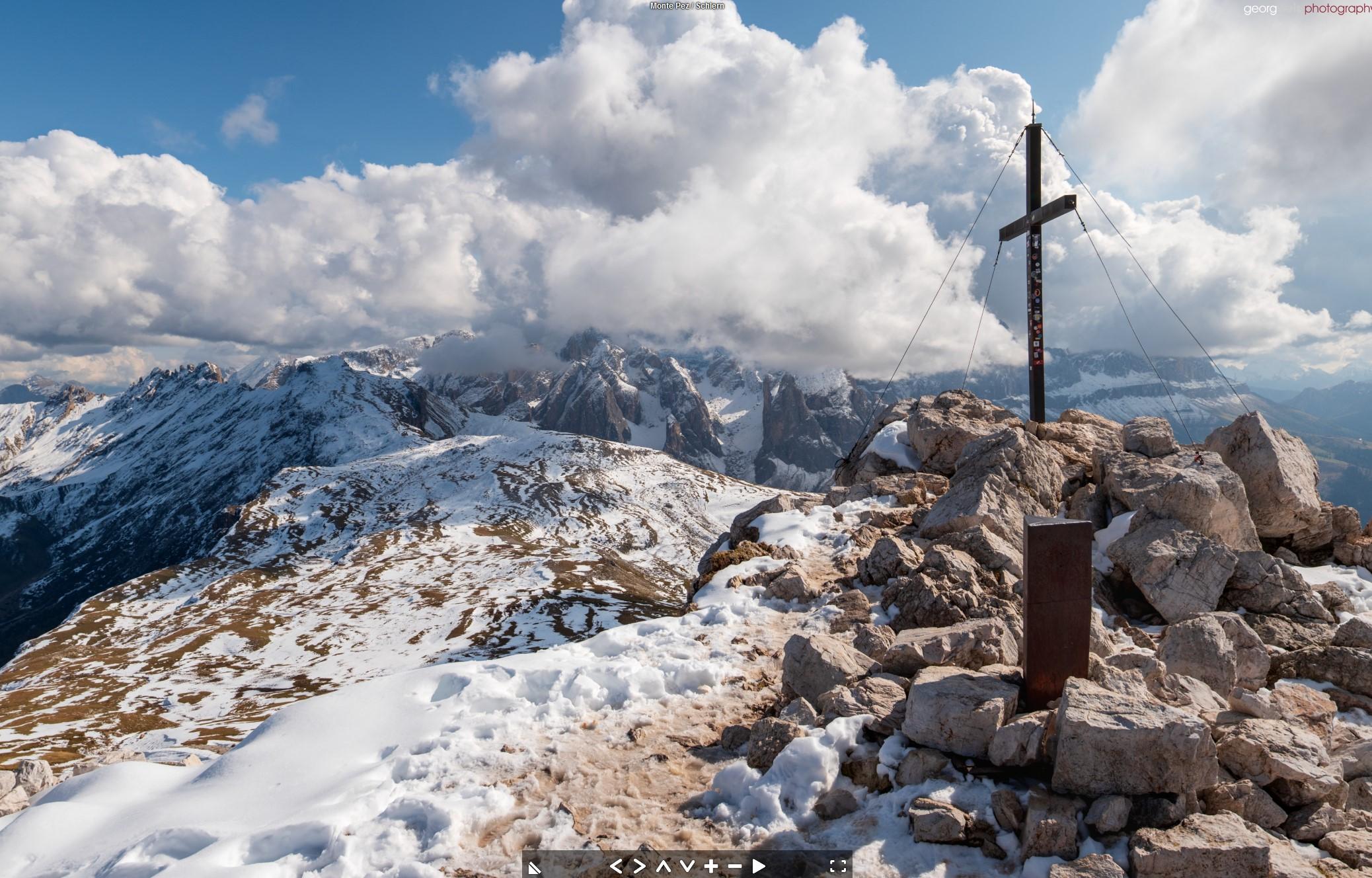 Monte Pez / Schlern (2563m) Völs